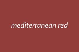 mediterranean red